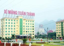 Nhà máy xi măng Xuân Thành, lưu lượng 2.400m3/ngày đêm (03/2017)
