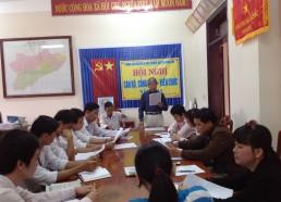 Xử lý chất thải rắn trung tâm huyện Nông Sơn (09/2011)